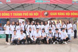 Sinh viên Trường Cao đẳng Công nghệ Y Dược Việt Nam dự lễ tưởng niệm ngày viên tịch của đại danh y thiền sư Tuệ Tĩnh và tham dự Hội chợ Đông Y năm 2019