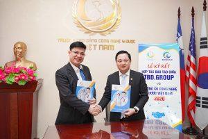 Lễ ký kết văn bản hợp tác giữa Trường Cao đẳng Công nghệ Y – Dược Việt Nam và các đối tác