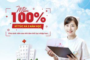 Trường Cao đẳng Công nghệ Y – Dược Việt Nam miễn phí 100% học phí năm 2020
