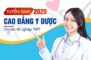 Các tổ hợp môn xét tuyển vào Trường Cao đẳng Công nghệ Y Dược Việt Nam năm 2019