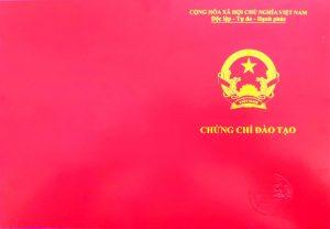 Chứng chỉ Ứng dụng Lazer trong Thẩm mỹ do Trường Cao đẳng Công nghệ Y Dược Việt Nam cấp có giá trị trên toàn quốc